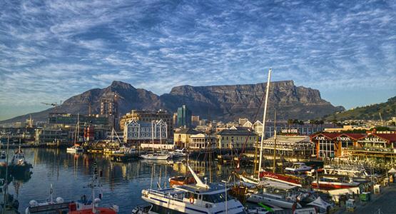 Zuid Afrika Tafelberg verhuizen naar Zuid-Afrika